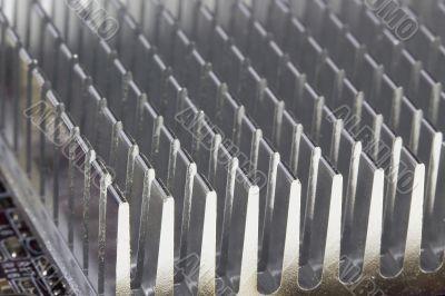 Microcircuit Radiator Cooling