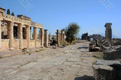 Frontinus Street in Hierapolis
