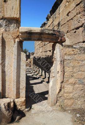 Latrine of Ancient Hierapolis