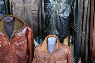 Leather Jackets and Belts