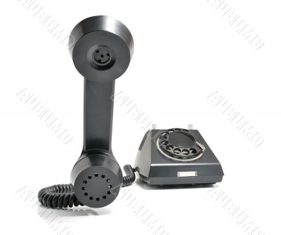 telephone with the taken off Handset