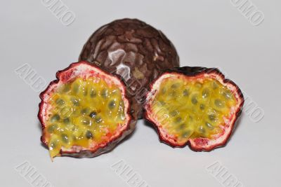 juicy passion fruit