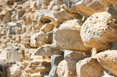 Amathus ruins wall
