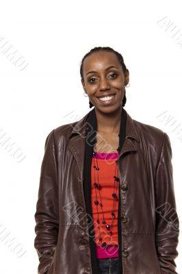 Beautiful young Ethiopian