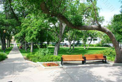 Victoria Park in downtown Regina
