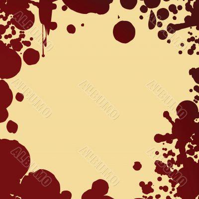 blood splash pattern