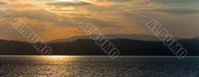 View Over Lake Garda in Italy