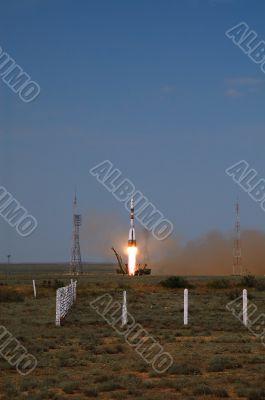 Soyuz TMA-15 Spacecraft Launch