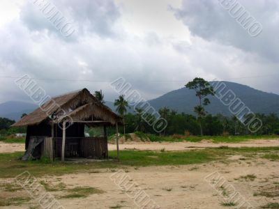 Bungalo on the thai island