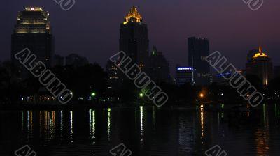 Bangkok in the night