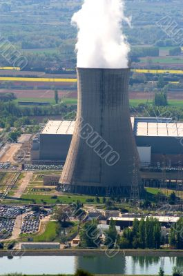 industrial site in nuclear power generation
