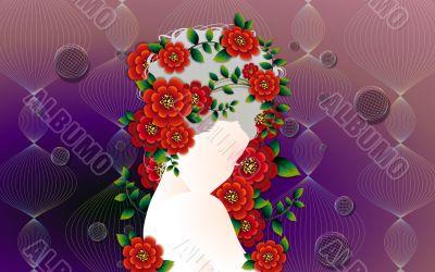 Beautiful Digital Art Girls Silhouettes