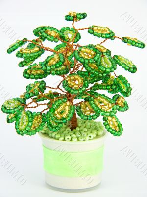 `money` tree of beads