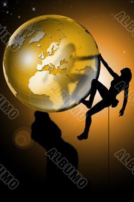 Climbing the world
