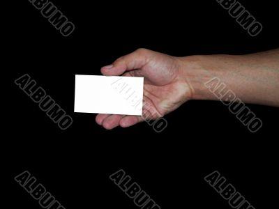mano y tarjeta personal 2