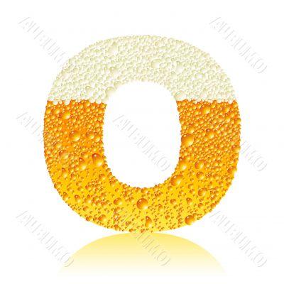 alphabet beer O