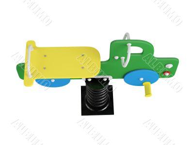 Car spring toy