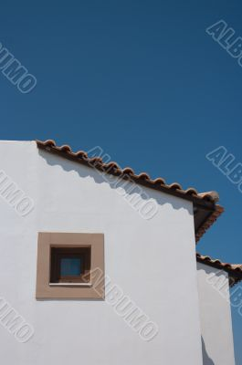 Mediterranean houses and streets.