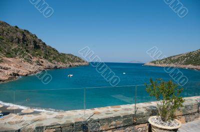 Mediterranean Sea bay.