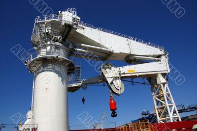 The ship crane
