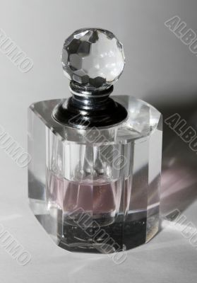 Bottle for perfumery