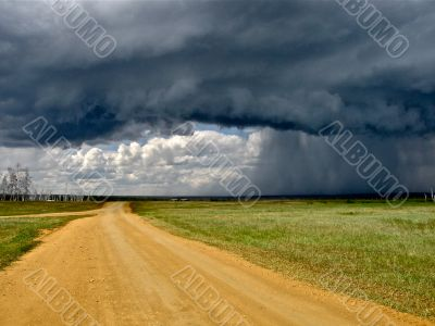 Ousted by stormy skies of Yakutia
