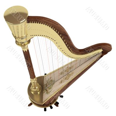 Isolated Harp