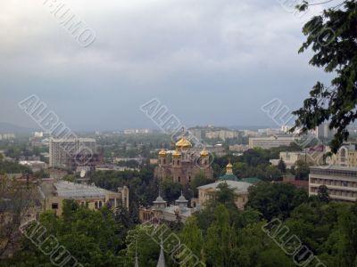 Pyatigorsk. Panorama. North Caucas. Church