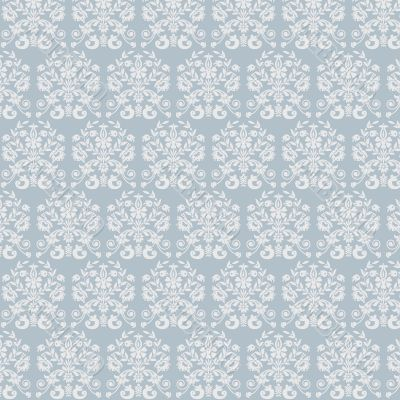 vegetable seamless pattern on  blue background