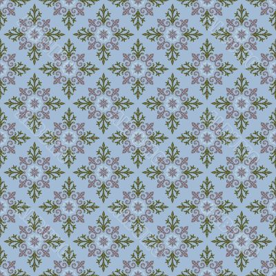 plaid seamless pattern on  blue