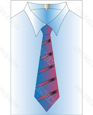shirt and tie insulated