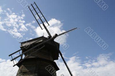 Wind power mill