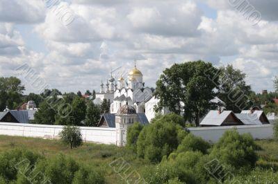 General view of the Pokrovsky Nunnery