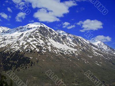 Mountain landscape. North Caucas