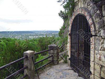 Lermontov's Grotto. Pyatigorsk.  North Caucas