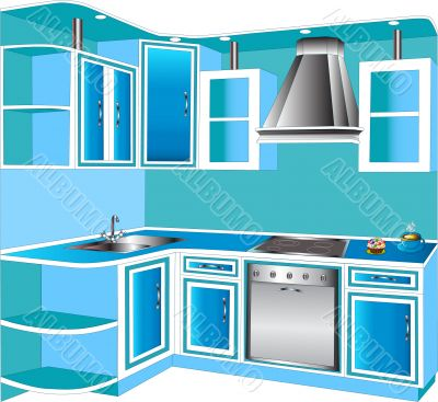 Furniture for interior of the kitchens