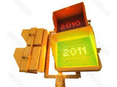 Positive 2011 3d semaphore
