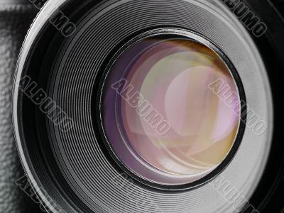 camera lens - shot - no blades
