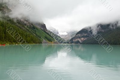 The magnificent Lake Louis