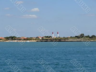 Aix island in France
