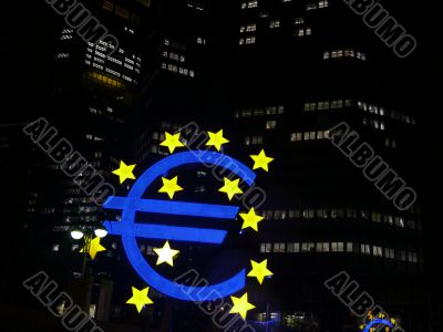 Frankfurt - European Central Bank - EZB - Euro