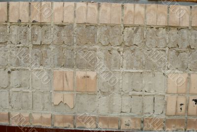 old wall tile