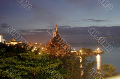 ancient vietnamian monastery