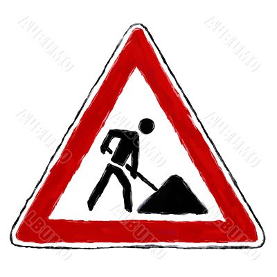 roadsign construction
