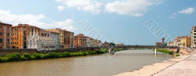 Panoramic view of Pisa