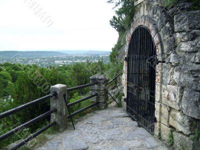 lLermontov`s grotto. Pyatigorsk. Caucas