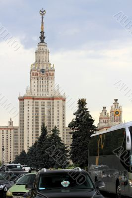 university building in Moscow