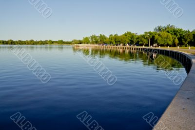 Wascana lake shores