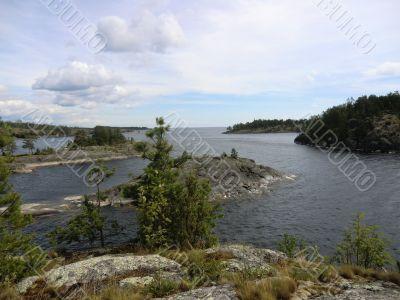 Gulf of Ladoga lake