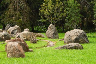 Museum of stones.